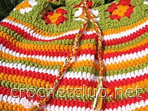 сумка цветочная 3