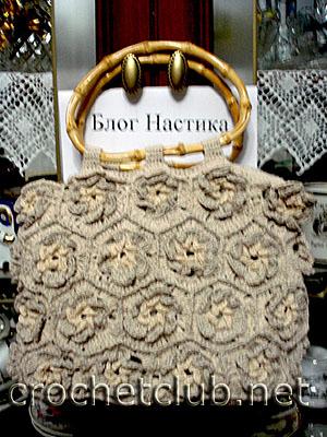 сумка из цветочных мотивов 1