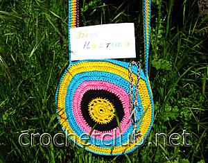 сумка солнечный круг