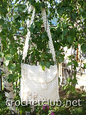 вязаная сумка гармония 2