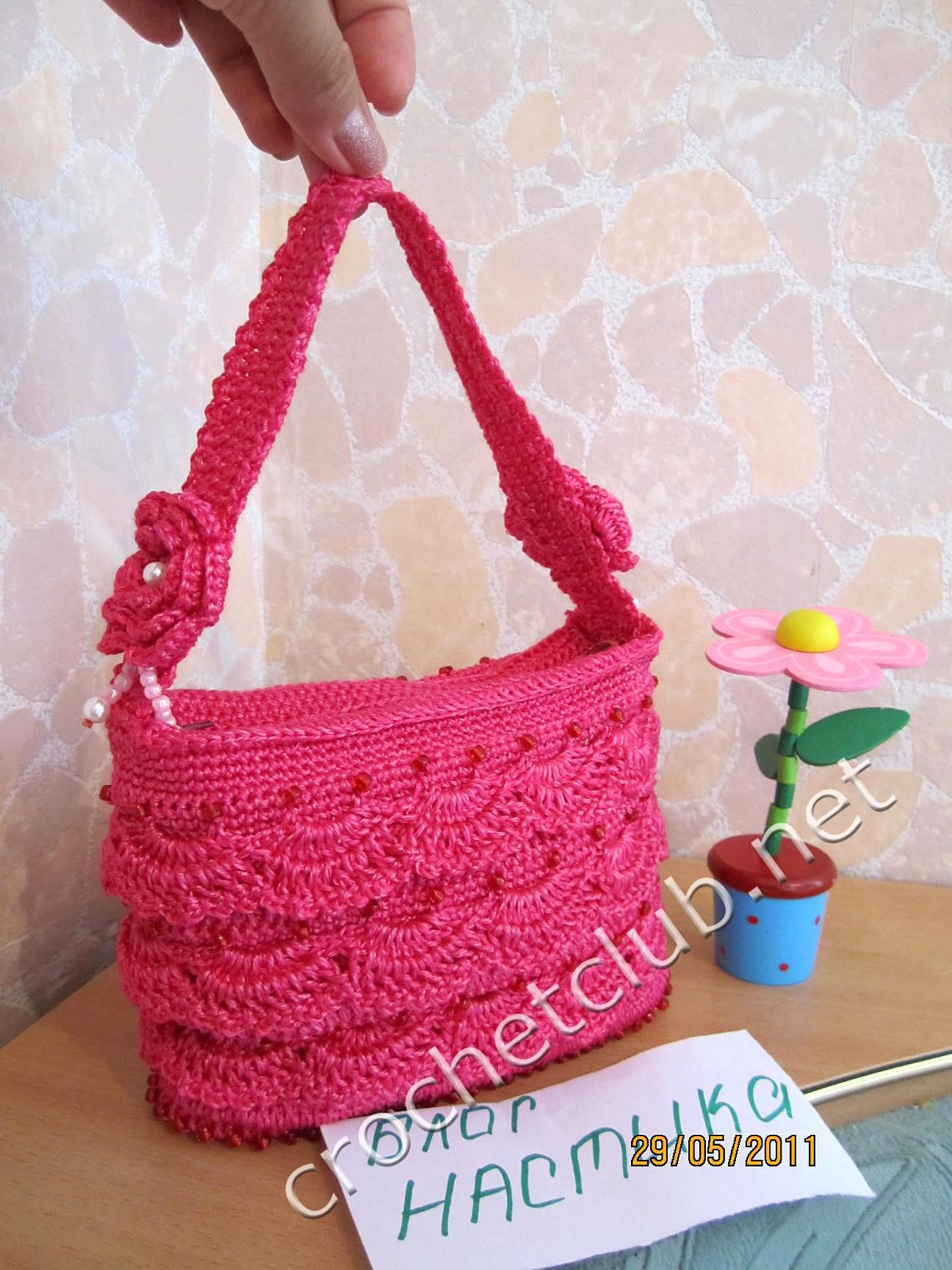 Вязание сумочек для девочек