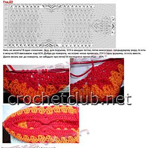 вязание носков крючком 3