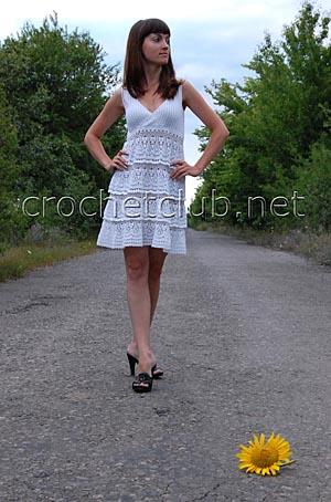 белоснежное платье анны костуровой 1