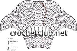 схема вязания платья 1