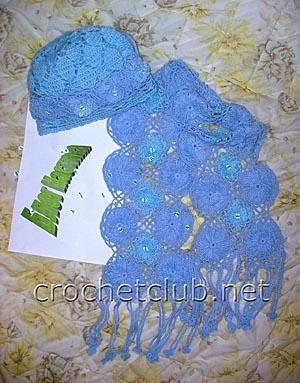 шапочка и шарф на тенерифе 1