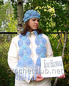 шапочка и шарф на тенерифе 2