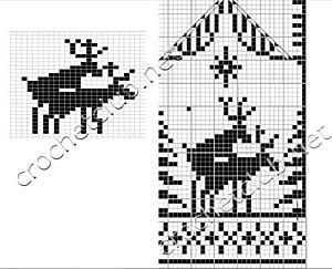 схема оленей