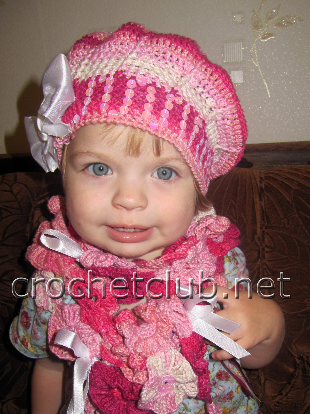Вязание беретиков для детей