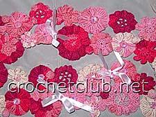 цветочный шарфик 1
