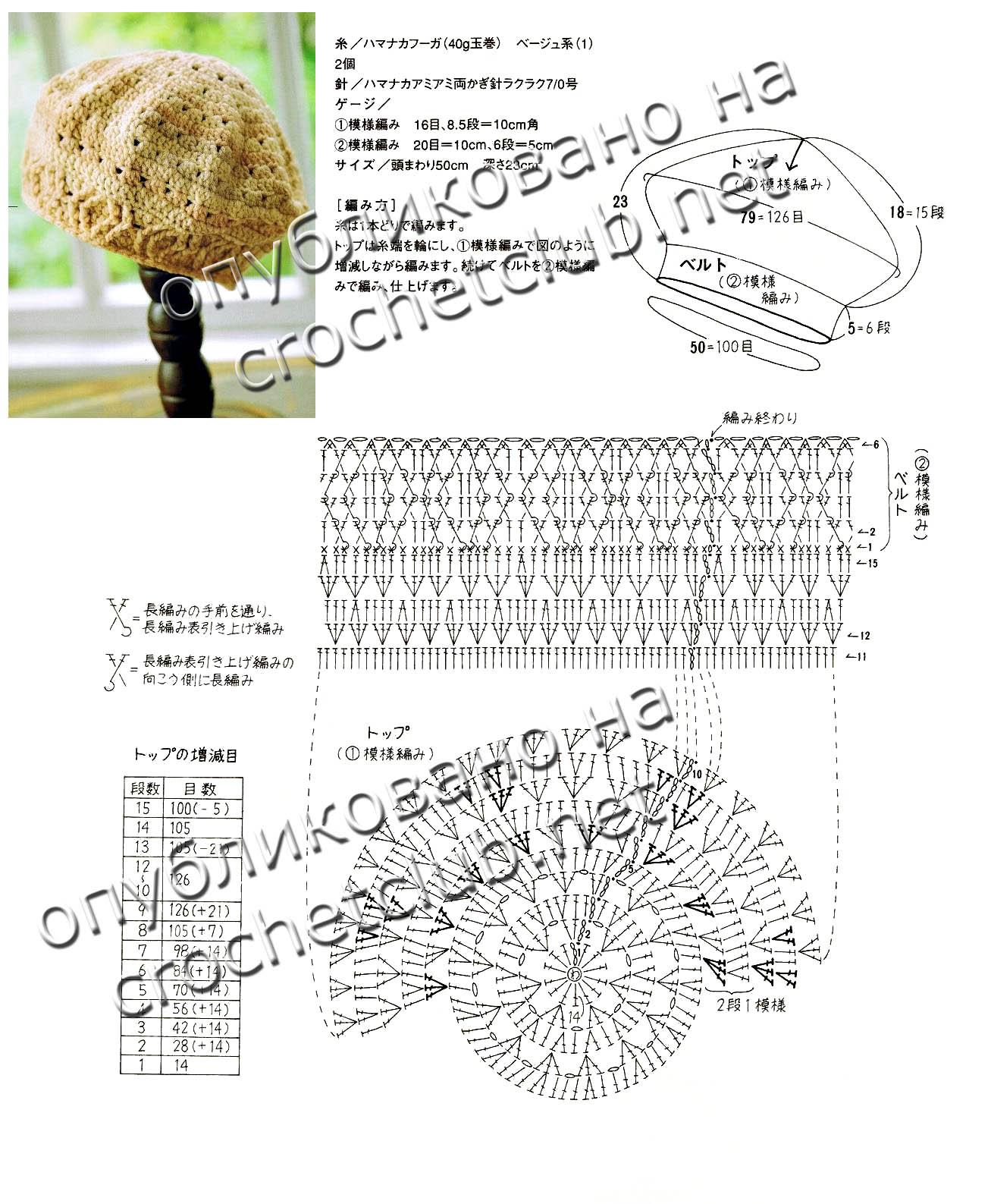 Снежок крючком схема и описание