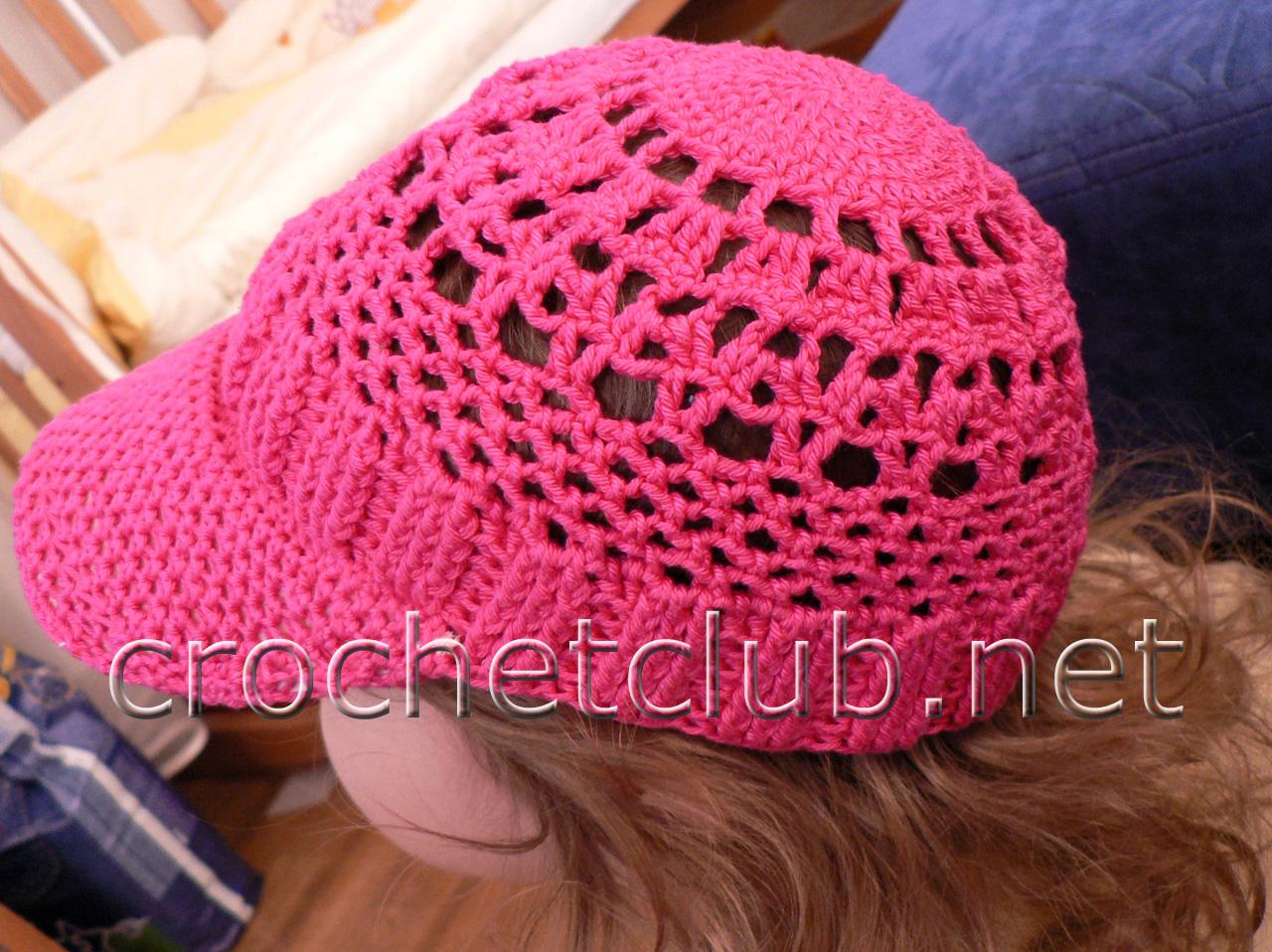 кепка вязание крючком блог настика