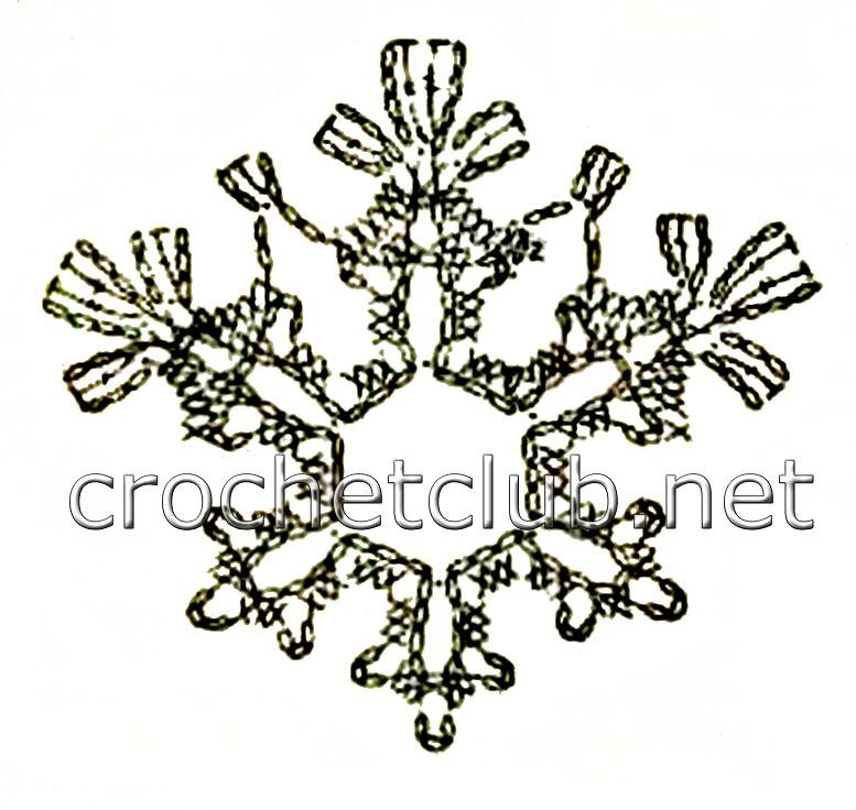 снежинки вязать крючком для начинающих