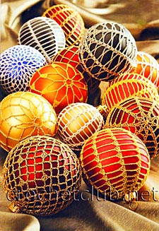 6 елочные шары