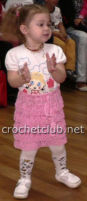 детская каскадная юбочка 2