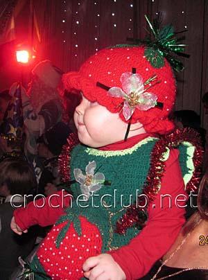 новогодний костюм клубничка