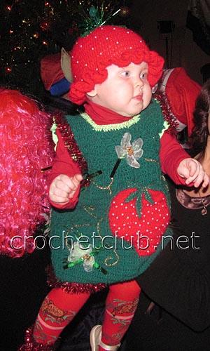 новогодний костюм клубничка 2
