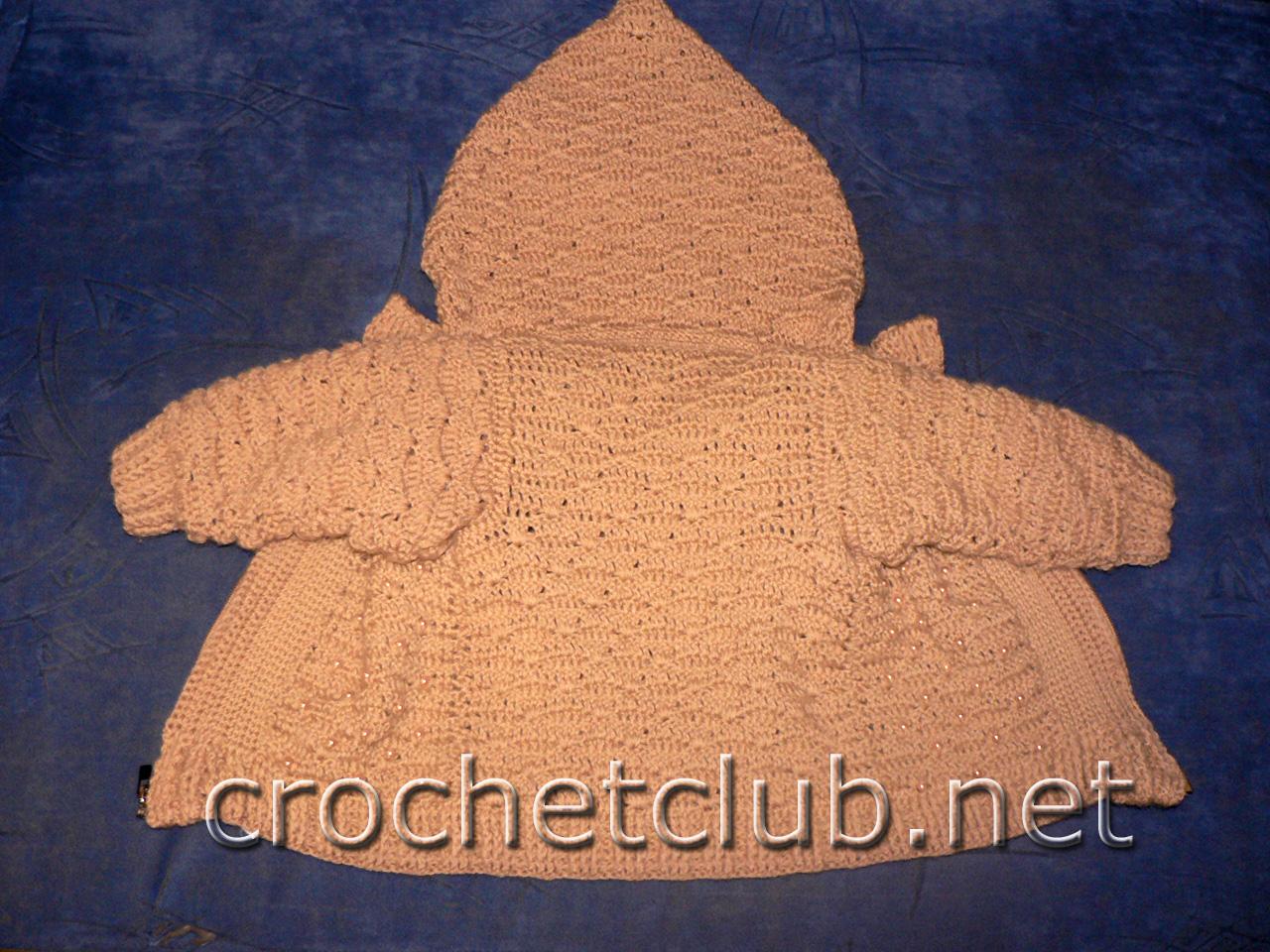 Вязание курточка детская
