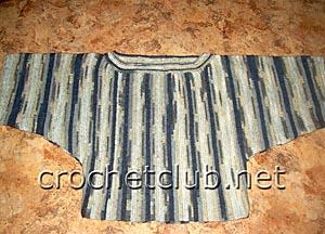 туника с рукавами кимоно 1