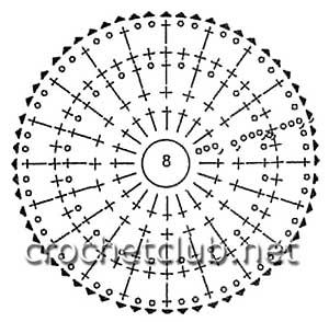кардиган в технике ирландского кружева-схема 11