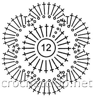кардиган в технике ирландского кружева-схема 7