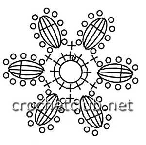 кардиган в технике ирландского кружева-схема 9
