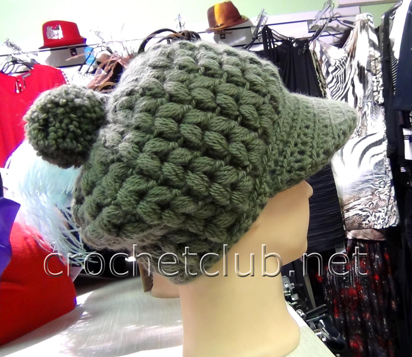 Вязаная крючком шляпа для девочки. Схемы вязания 72