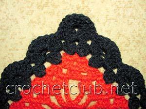 красная шаль-фрагмент 3