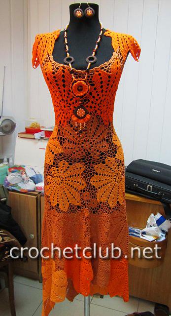 Платье «Золотой листопад» было