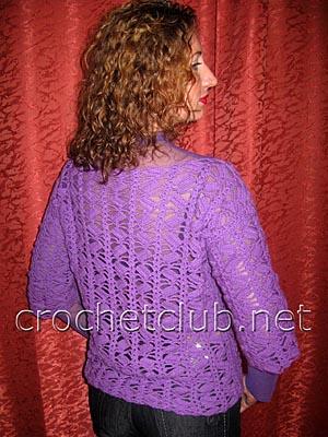пуловер фиолетовое облачко 1