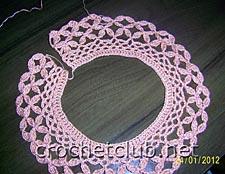 детское платье крючком-фрагмент 1