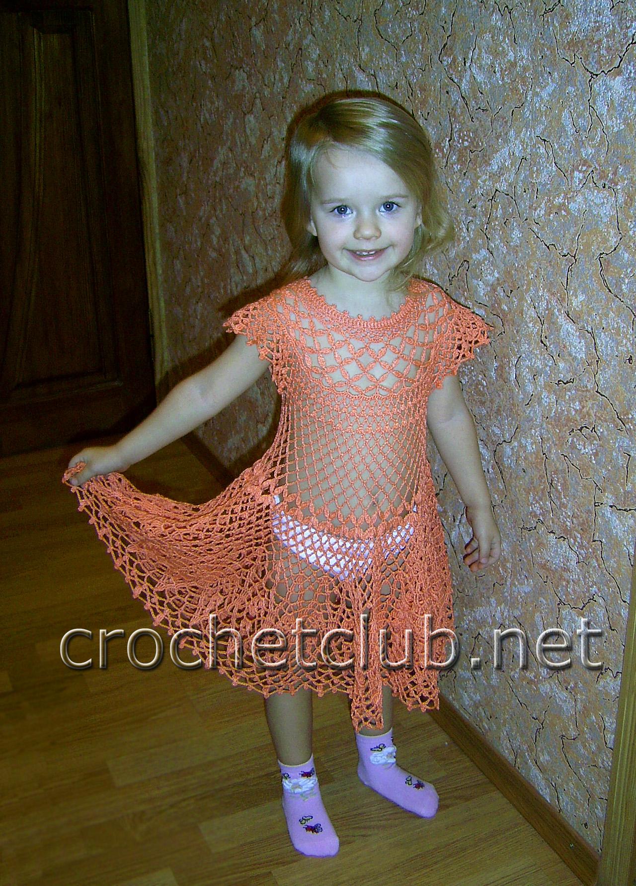 детское платье крючком вязание крючком блог настика