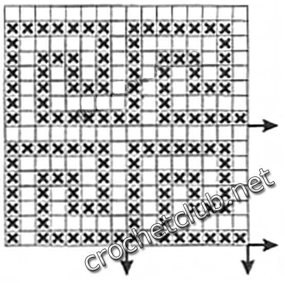 Греческие узоры для вязания 2