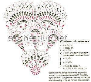 розовый комплект для малышки-схема 1