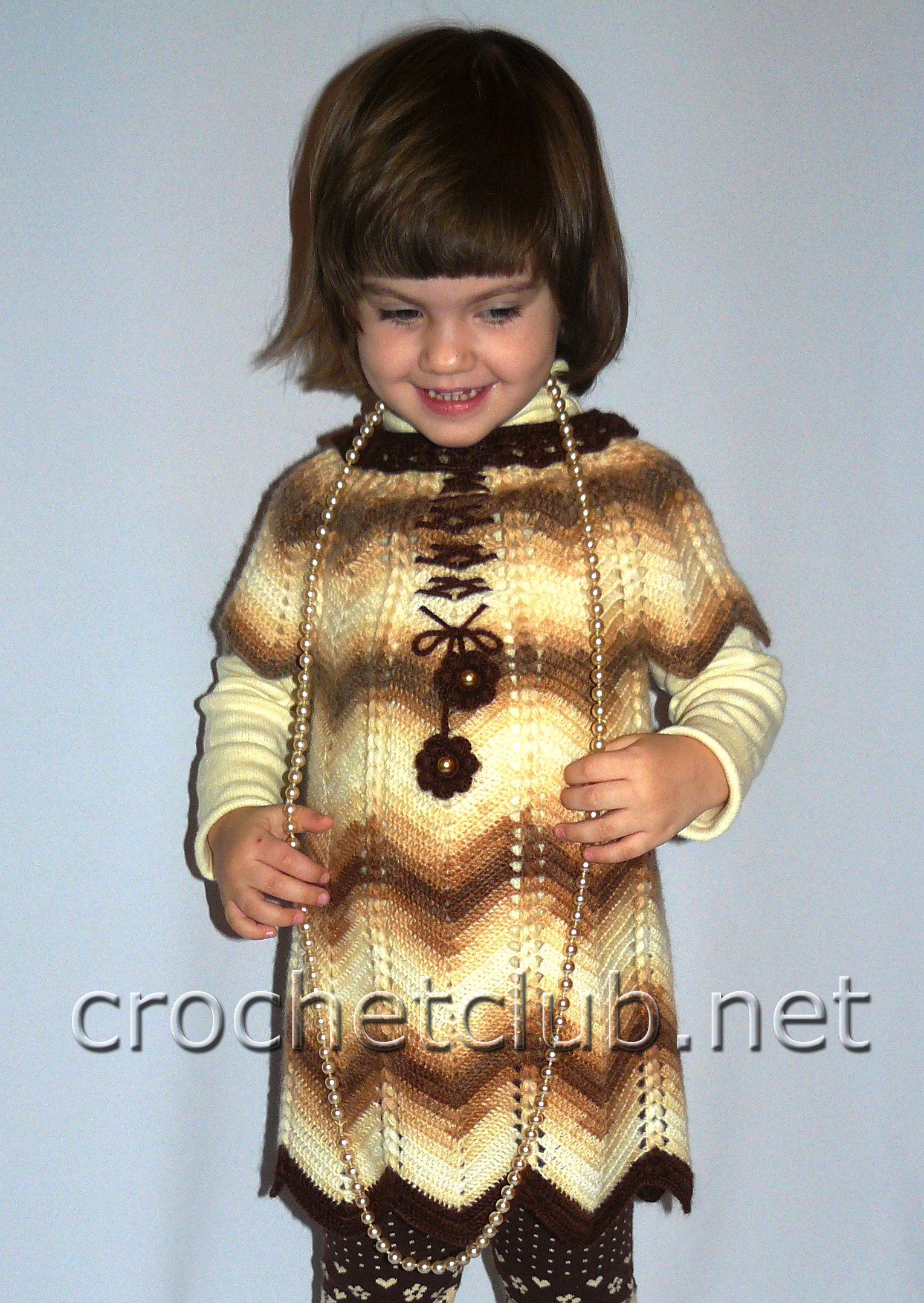 схема вязания крючком кофт на девочку