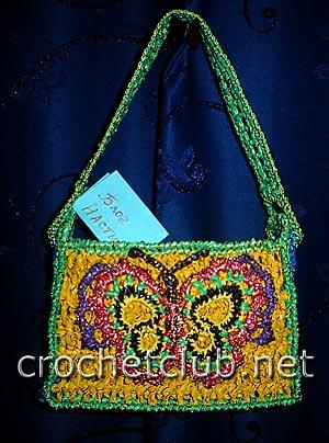 украшение для сумки бабочка