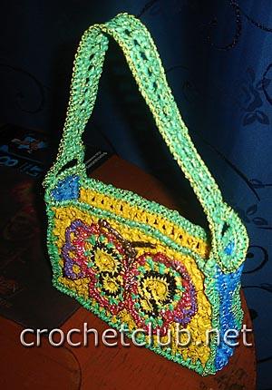 украшение для сумки бабочка 2