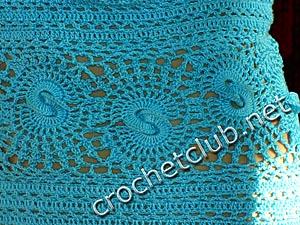 вязаное платье лагуна 4