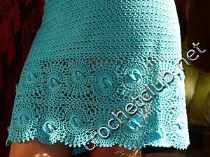 вязаное платье лагуна 5