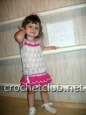 сарафан для девочки 2 лет