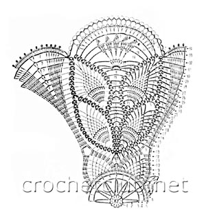 детский сарафанчик бабочка-схема