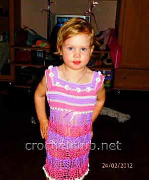 сарафан для двухлетней девочки