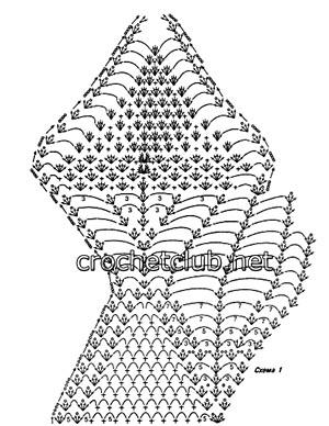 сарафан с отделкой из травки-схема