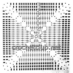 бело-розовый сарафан-схема 1