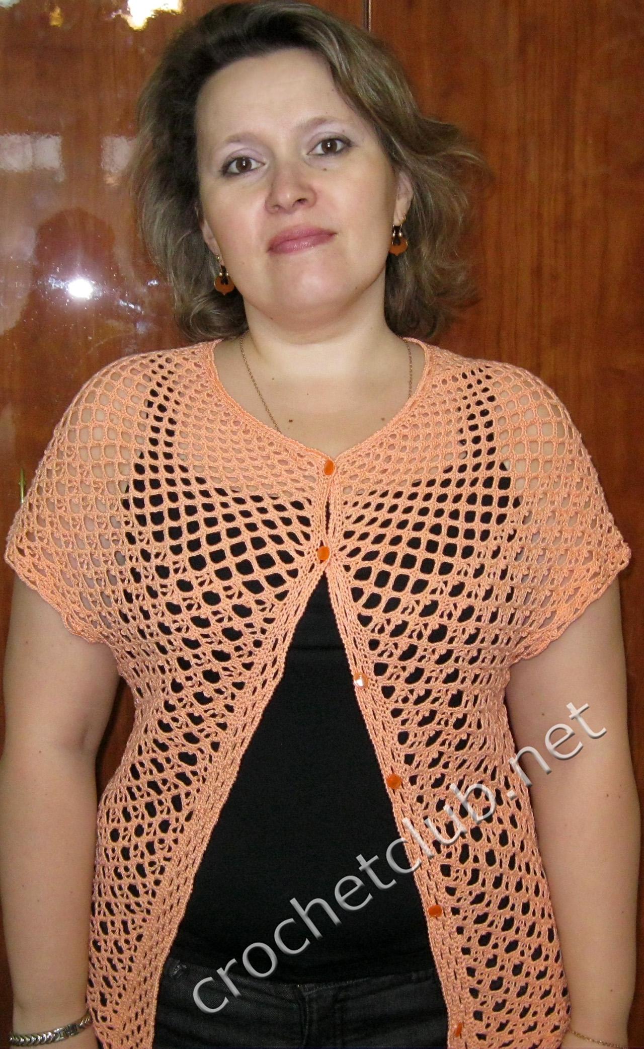 вязаное платье на кокетке схема для женщины