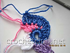 мастер-класс вязание спиральных квадратов 12