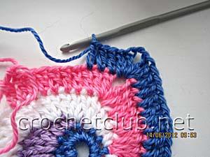 мастер-класс вязание спиральных квадратов 18