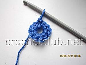 мастер-класс вязание спиральных квадратов 2