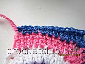 мастер-класс вязание спиральных квадратов 22