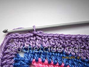 мастер-класс вязание спиральных квадратов 28