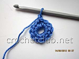 мастер-класс вязание спиральных квадратов 3